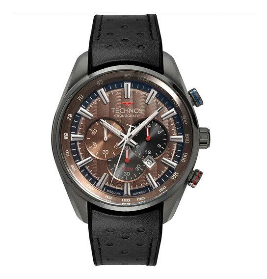 Relógio De Pulso Technos Com Pulseira De Silicone Os20hmi/2m
