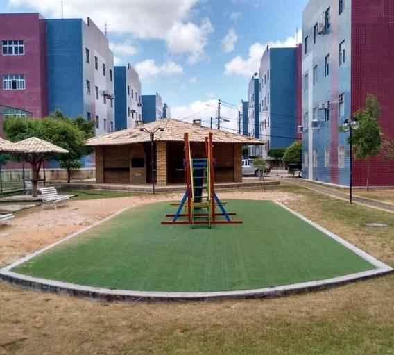 Apartamento Em Pitimbu, Natal/rn De 56m² 2 Quartos À Venda Por R$ 105.000,00 - Ap210413