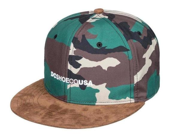 Gorra Dc Shoes Flop Dropper Snapback Hat-nuevo
