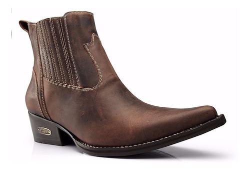 Imagem 1 de 4 de Bota Country Masculina - Anaconda- Botina-capelli Boots