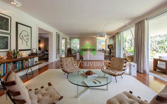 Casa Com 4 Dormitórios À Venda, 640 M² Por R$ 6.900.000,00 - Alto De Pinheiros - São Paulo/sp - Ca0170