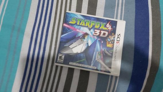 Star Fox 64 3d Mídia Física Completo 3ds