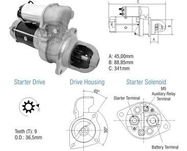 Motor De Partida Delco 28mt 24v Mb 715 914 1215 Eletronico