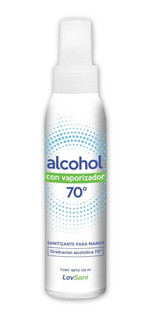 Alcohol En Aerosol C/vaporizador 125ml X12 Unidades Lovsani