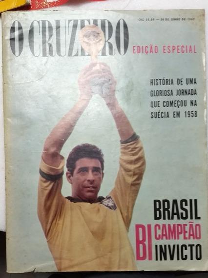 Revista Colecionador O Cruzeiro Edicao Especial 1962
