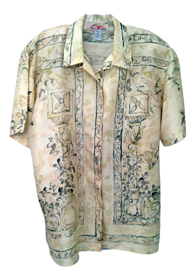 Camisa Seda Natural