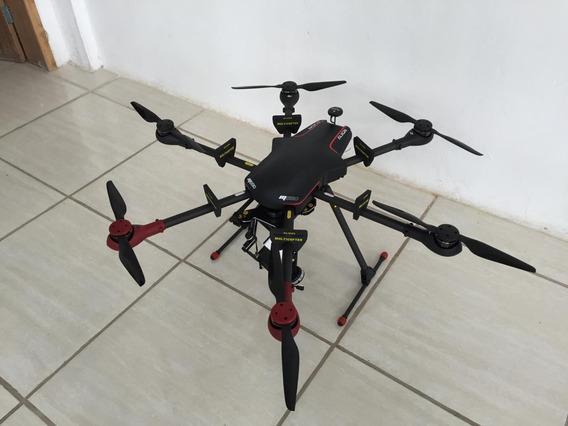 Drone Vant Profissional Carrega Câmera Reflex C/controle