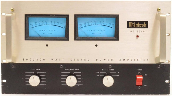 Amplificador - Potência - Mcintosh Mc 2300