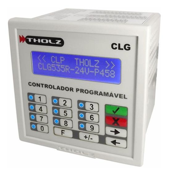 Controlador Lógico Programável - Clg535r - 24vcc - Tholz