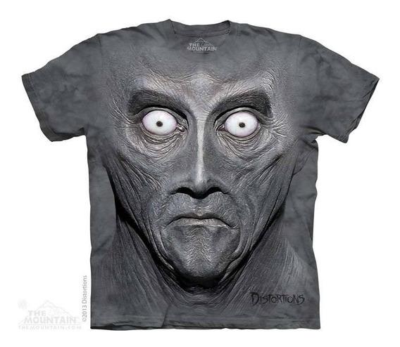 Camiseta The Mountain 100% Algodão Creeton Alien Alienígena