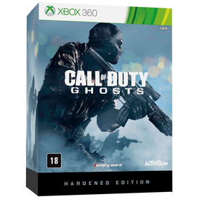 Call Of Duty Ghost Hardened Edition Xbox 360 Lacrado Novo