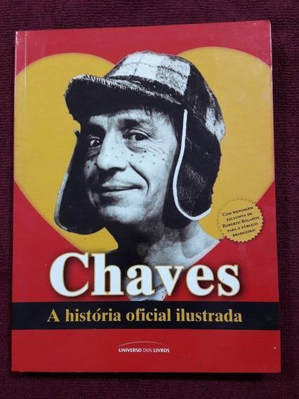 Livro Chaves A História Oficial Ilustrada