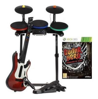 .: Paquete Guitar Hero Warriors Of Rock Para Xbox 360 :. Bsg