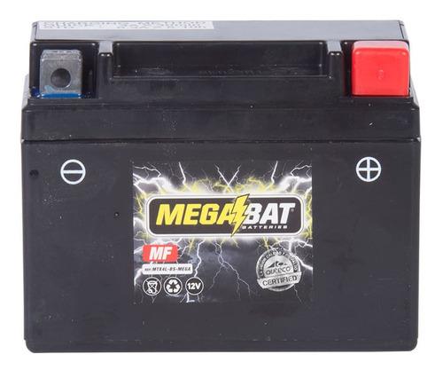 Imagen 1 de 2 de Batería Moto Megabat Mtx4l Suzuki Best 125, Cb 110, Platino