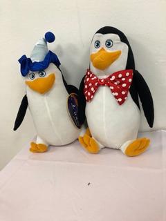 Pinguinos De Madagascar 2 Piezas $ 1190.00