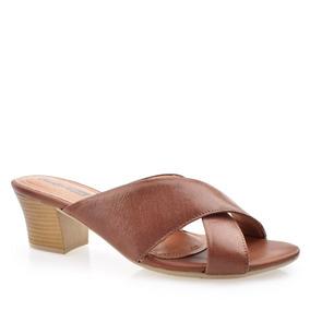 3b7f04a229 Sandalia Salto Grosso Feminino Sandalias Comfortflex - Sapatos no ...