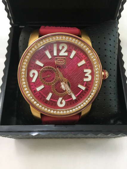 Relógio De Pulso Ecko Unltd E13544g2 Rosa E Rosé Feminino