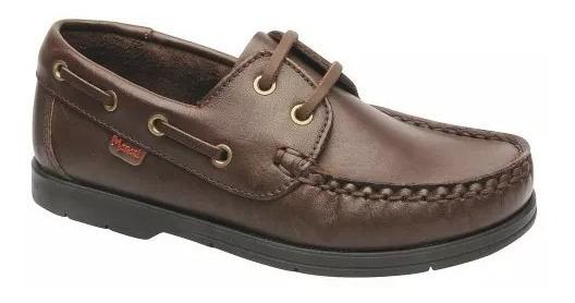 Zapatos Mocasin Unicex Colegial 500 Marcel 27 Al 40 100%cuero