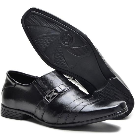 Sapato Social Masculino Em Couro Legítimo Estilo Italiano