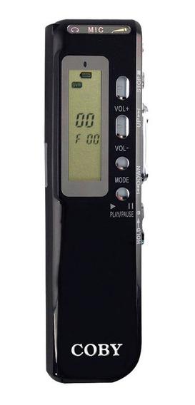 Gravador Digital De Voz Coby 4gb Cvr20
