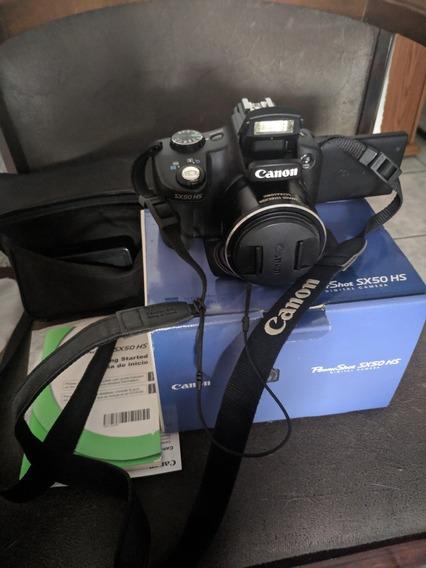 Câmera Canon Power Shot Sx 50hs Semi Profissional