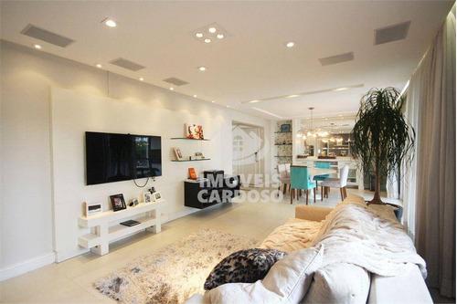 Apartamento Com 3 Dormitórios À Venda, 143 M² Por R$ 1.495.000 - Alto Da Lapa - São Paulo/sp - Ap18550