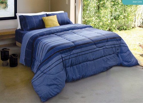 Combo +sommier+colchón 2 Pzas+ Acolchado+sábanas+almohadas