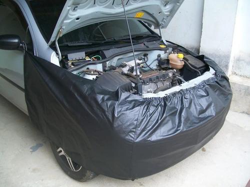 Imagem 1 de 4 de Jogo De Capas 5 Peças P/ Carro Proteção Manutenção Mecânica