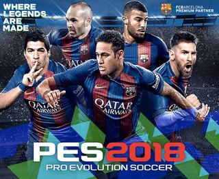 Pes 18 Ps3 Pro Evolution Soccer Playstation 3 Original