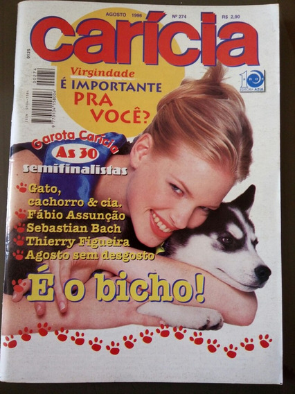 Carícia 274 Fábio Assunção Sebastian Bach Thierry Figueira