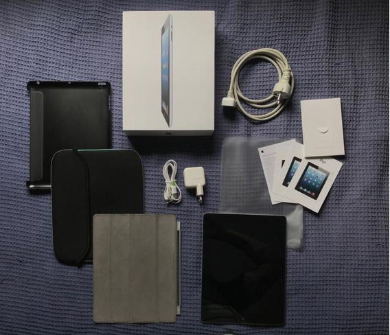 Apple iPad 4ªg 32gb Wifi Black + Brindes - Excelente Estado!