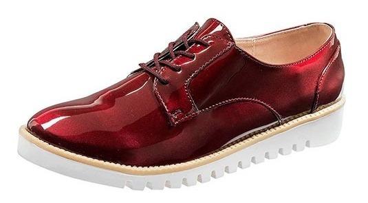 Zapato Para Mujer Casual Marca Been Class 11508 Vino P19a