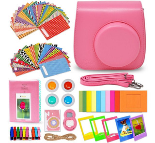 Xtech Fujifilm Instax Mini 9/8 Flamingo Pink Kit De Accesori