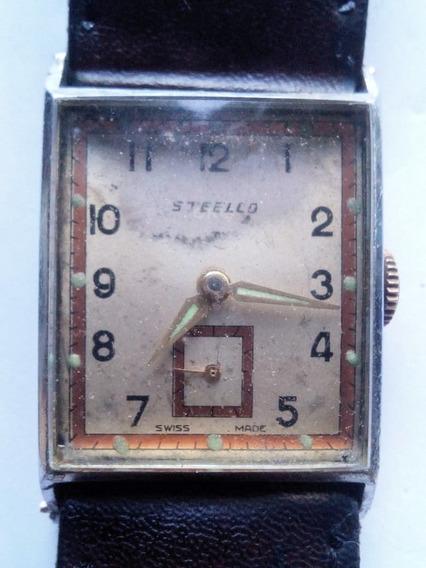 Reloj Steelco De Los Años 20s Original Vintage