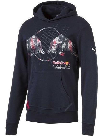 Blusa Red Bull Racing Graphic Puma Marinho