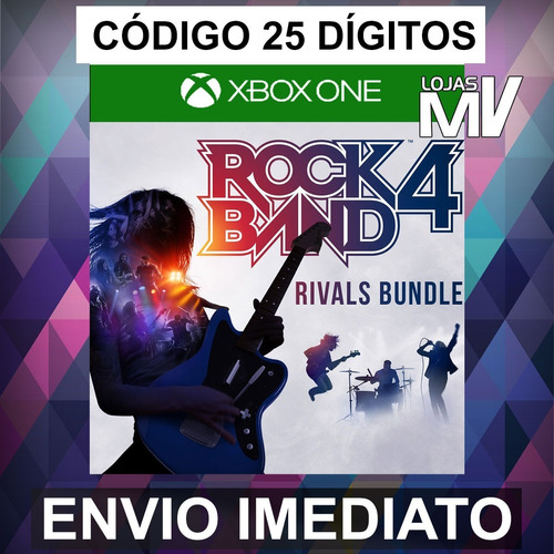 Rock Band 4 Rivals Bundle Xbox One Código 25 Dígitos