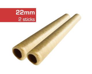 Tripa Colágeno 22mm Seca 2 Sticks Para 13kg 180 Salchichas
