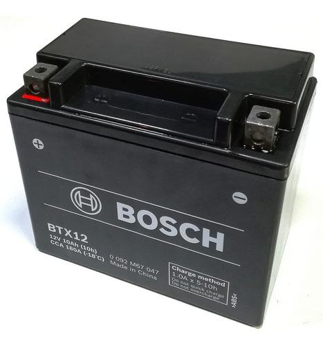 Imagen 1 de 5 de Bateria Bosch Btx12 Moto Kawasaki Er6n Er650 Brute Force 300