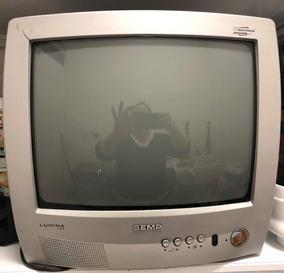 Tv Semp Toshiba Lumina 20´-tubo- Func Normal-frete Gratis