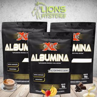 5x Albumina X-lab 1 Kg - 5kg No Total ( Sabores Variados)