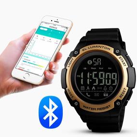 Reloj Watch Skmei 1347 Bluetooth Podómetro Calorías Acuático