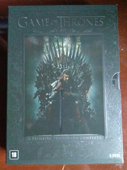 Box Dvd Game Of Thrones 1 Temporada Completa Hbo