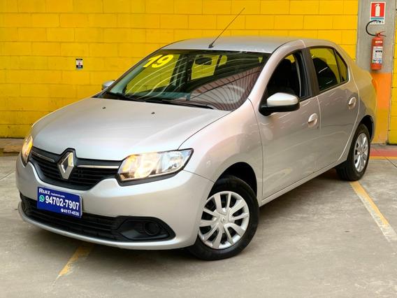 Renault Logan 1.0 Completo Mil Entrada+950mes Metro Sao Luca