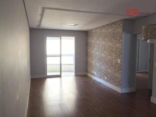 Imagem 1 de 23 de Apartamento Com 3 Dormitórios À Venda, 104 M² - Vila Caminho Do Mar - São Bernardo Do Campo/sp - Ap3389