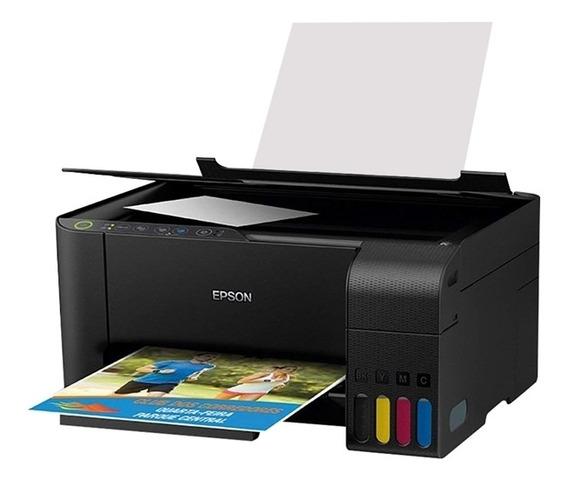 Impressora Epson Multifuncional Ecotank L3150 Colorida Wi-fi