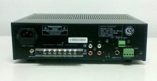 Dumont A330 Amplificador Audio Instalación Comercial 70-100v