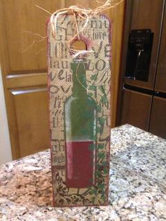 Empaque De Regalo Para Botella De Vino