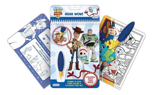 Librito Colorear Libro Toy Story Agua Wow Pinta Magica Water