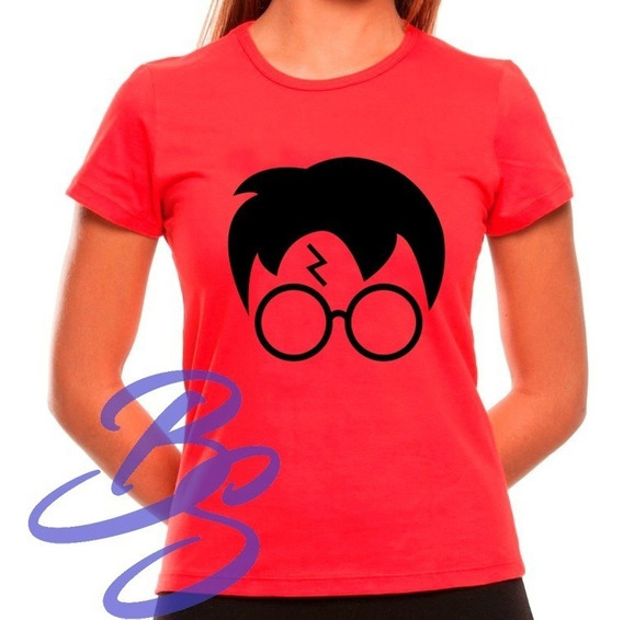 Baby Look Harry Potter Marca Eterna Filme Camiseta Feminina