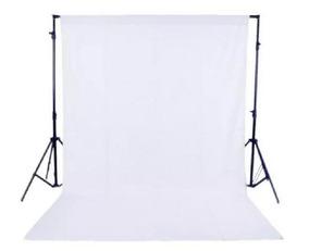Fundo Infinito Fotográfico Branco Em Tecido Poliéster 3x7